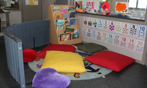 the quiet reading corner